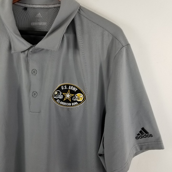 wholesale dealer 72c6e a94d1 adidas Other - Adidas US Army All American Bowl Golf Polo Shirt